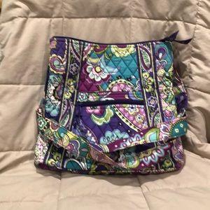 Vera Bradley hipster style purse
